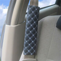 2Pcs Car Safety Seat Belt Shoulder Pads Cover Cushion Harness Pad Protector BL
