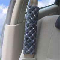 2x coche cinturón de seguridad cinturones de hombro cojines cubierta ar*ws