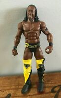2010 WWE Mattel Kofi Kingston Action Figure Wrestling Doll Figurine Jointed 7""