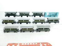 BI522-2# 10x Märklin H0/AC Bastler-Blech-Personenwagen: 4051 + 4000 + 327/1