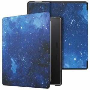 """for Amazon 7"""" Kindle Oasis 10th Gen 2019 PU Leather Protective Cover Smart Case"""