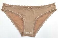 NWT*Victoria's Secret BODY BY VICTORIA SOLID CHEEKINI PANTY-- LIGHT BROW--XS/XP