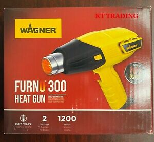 NEW WAGNER 0503059 FURNO 300 DUAL TEMP 750 -1100 DEGREES HEAT GUN 1200W 1642651