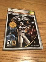 Star Wars: Battlefront II Platinum Hits Original Xbox Game Complete & Tested