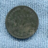 1850's Penny Trade Token R Parker Ironmonger Geelong Victoria Australia L-304