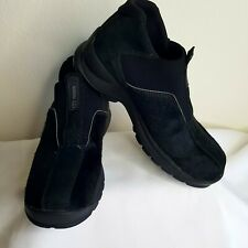 Tecnica Women's Slip On Black Calf Hair Shoes size 6