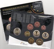 NEW !!! Euro GERMANIA 2017 ADFGJ in Folder Ufficiale NEW !!!