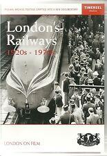 LONDON'S RAILWAYS 1920s - 1970s DVD - INCLUDING GPO MAIL TRAIN & ROADRAILER