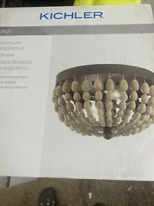 Kichler 1142082 Coltyn Flushmount Ceiling Fixture Nautical Theme New