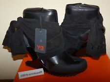 Adidas Women's Y-3 Nomad Wedge Ankle Boots, G63689, Black, US Size 9.5