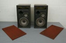 RARE Vintage Crisman Boulder CO High-Quality 3-Way Speakers GREAT LOOK
