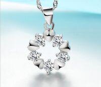 925 Sterling Silber Anhänger für Halskette Schmuck Damen Geschenk Glück FERANI
