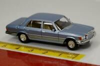 Brekina Starmada: Mercedes 450SEL (W 116) grau blau metallic - 13156