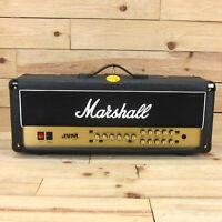 Marshall JVM 205H 50-watt, 2 channel, all-valve (5 x ECC83s, 2 x EL34s) head