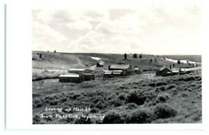 RPPC  SOUTH PASS CITY, Wyoming WY ~ Main Street GHOST TOWN Mining 1950s Postcard