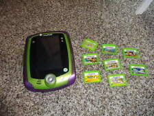LEAPPAD LEAP PAD 2 LEAPPAD2  HANDHELD SYSTEM AND 8 GAMES CATRIDGES
