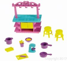 Fisher-Price Dora Playtime Together Dora and Me Dollhouse Kitchen Set NEW!