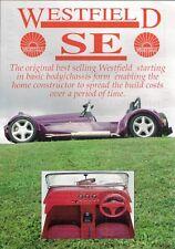Westfield se forme de mi 1990s marché du royaume-uni notice sales brochure