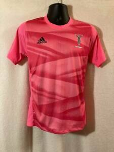 Adidas Boys  Harlequins Rugby Training Shirt-BNWT - All Sizes
