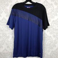 NEW Fila Sport Blue Black Mens Top Size M