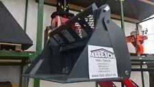 Mehrzweckschaufel 4 in 1 mit hydraulischer Öffnung für Hoflader Avant Multione..
