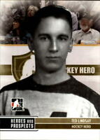 2009-10 ITG Heroes and Prospects Hockey Cards Pick From List