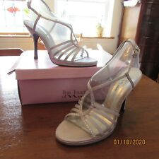 Womens Silver Prom/Wedding Shoes size 8 M