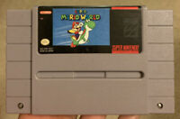 Super Mario World SNES Super Nintendo Game Tested Working & Authentic!