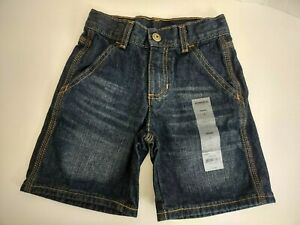 Sonoma Boys 4 Denim Jean Dark Stone Wash Shorts New with Sticker