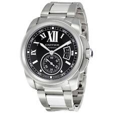 Cartier Calibre de Cartier Black Dial Mens Watch W7100016