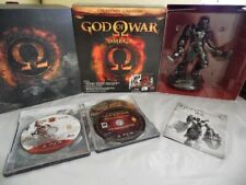 God Of War Omega Ps3 Limited Steelbook 5 Games Statue kratos sideshow Collection