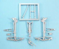 Su-34 Fullback Landing Gear replacement for 1/72 Trumpeter Model  SAC 72141