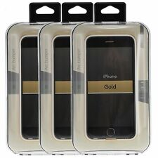 3-Pack Power Support ARC Bumper Gold Resilient Protection for iPhone 6 / 6s 4.7""