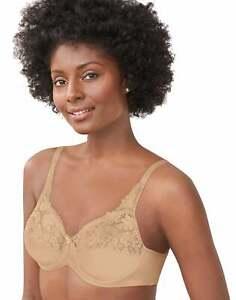 Lilyette Bali Minimizer Bra Tailored Lace Trim Women's Shaping UW-Xtra LY0428