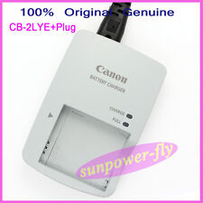 Genuine Original Canon CB-2LYE CB-2LY Charger For NB-6L NB-6LH Battery  IXUS300