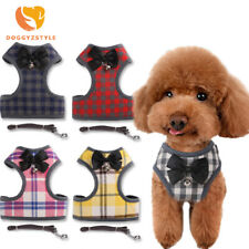 Nylon Dog Cat Harness French Bulldog Harness Puppy Small Dogs Harnesses Walking