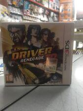 Driver Renegade 3D Uk 3DS 2DS USATO GARANTITO