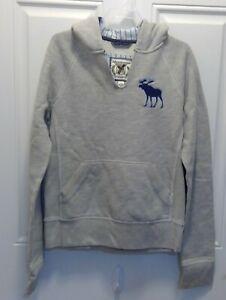Abercrombie Boy's Gray Sweatshirt Size Large