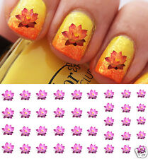 Lotus Flower Nail Art Waterslide Decals - Salon Quality!
