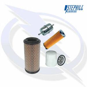 SERVICE KIT (OIL, FUEL X2, AIR FILTER) FOR KUBOTA V2203 STEPHILL GEN ENGINE