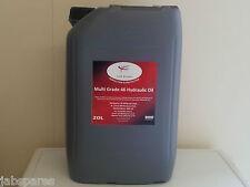 JCB 46 Hydraulic Multi Grade Oil 20Ltrs Meets JCB DIN Spec 51524 Part III