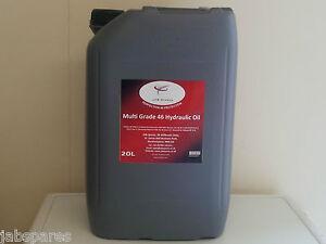 JCB 46 Hydraulic Multi Grade Fluid 20Ltrs Meets JCB DIN Spec 51524 Part III