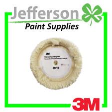 "3M 05719 Perfect-It 9"" Single SIded Wool Compounding Velrco Pad"