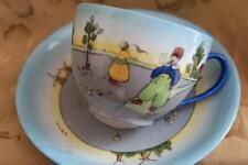 LIMOGES LANTERNIER DUTCH DESIGN CUP & SAUCER