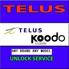 EXPRESS Factory Unlock Canada Telus Koodo iPhone Samsung any brand all models