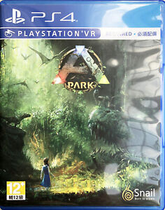 PS4 PSVR Ark Park VR 方舟公园 HK Chinese/English ver PLAS10154 VR Required pre-own