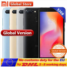 "5.45"" 18:9 Xiaomi Redmi 6 32Go 4G Téléphone Global 8Core Helio P22 3000mAh 12MP"