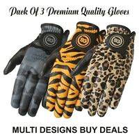 SG Men golf gloves black cabretta leather palm Clearance Sale Left Right hand