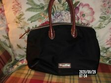 Dooney and Bourke Black Nylon with leather trim Purse