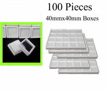 Wholesale 100 boxes display of gemstones and diamonds Acrylic with glass top